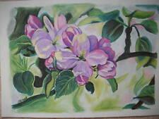 Bild Pastellkreide das Original Blumen Blüten A3