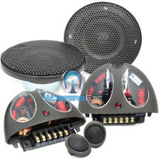 "MOREL VIRTUS 402 4"" CAR 2-WAY COMPONENT SPEAKERS MIDS TWEETERS CROSSOVERS NEW"