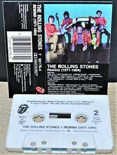 THE ROLLING STONES    - REWIND  (1971-1984) -                      Cassette Tape