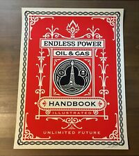 Shepard Fairey Obey Giant HANDBOOK Signed Numbered Screen Print