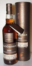 Glendronach 13y 2003 55,6%  PX Puncheon cask 4629  602 bottles 0.7L