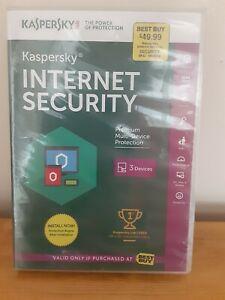 2014 NEW Sealed - Kaspersky Internet Security for 1 Device.