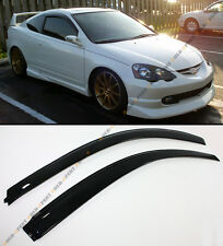 For 02-06 Acura RSX 2 Door Coupe DC5 Type-S JDM Style Window Visors Rain Guard