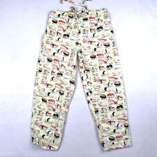 The Cats Pajama Sushi Pants Sz XS Lounge Night