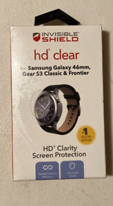 ZAGG Invisible Shield HD clear Screen Protector for Galaxy 46mm Gear S3 ClassicZ