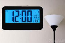 Fashion Creative Smart Clock LED Digital Snooze Alarm Calendar Temperature Clock