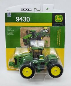 John Deere 9430 4wd Tractor With Triples 1/64 Scale By Ertl