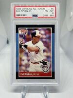 1988 Donruss All Star Cal Ripken Jr #5 PSA 8 Hall Of Fame HOF Baltimore Orioles