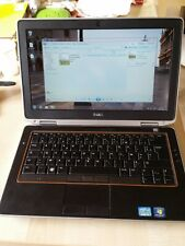DELL Latitude E6320 CPU Intel i5, 4GB ram HDMI WIN 7 originale Tastiera FRANCESE