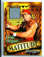 2003 WWE Hulk Hogan Matitude/Agression Used Ring Mat Relic Memorabilia Wrestling
