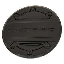 OEM NEW Fuel Tank Door Gas Cap Black w/Camaro Logo 16-18 Chevrolet 23506590