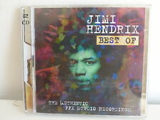 CD Album JIMI HENDRIX Best Of The authentic PPX studio recordings SPV 085 29272