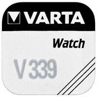 1 Pile VARTA 1,55v pour montre Oxyde d'argent V301 à V399