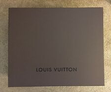 Extra Large Louis Vuitton Brown Storage Gift Box 19.875 in X 16.5 in X 9.25 in