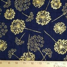 Brazil-BR603-A-M Floral Cotton Double Gauze Dress Fabric