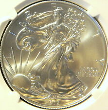 2012 W SILVER EAGLE, NGC MS 69, EARLY RELEASE
