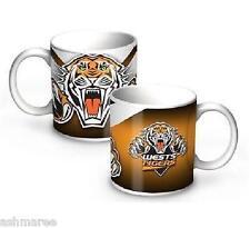 NRL Wests Tigers 11oz Ceramic Coffee Mug / Coffee Cup
