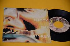 "PETER GABRIEL GENESIS 7"" SHOCK THE MONKEY ORIG ITALY 1982 EX+ TOP COLLECTORS"