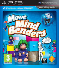 Move Mindbenders PS3 Move Game *in Excellent Condition*