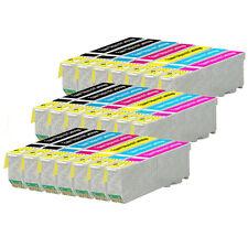 21 Cartouches d'encre (Set + BK) pour Epson Expression Photo XP-750, XP-850, XP-950