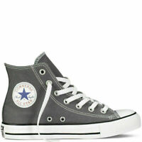 NEW MEN'S UNISEX Charcoal CONVERSE All Star Hi Trainers shoes UK size 4