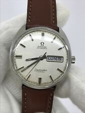 VINTAGE OMEGA SEAMASTER COSMIC 166036-TOOL 107 AUTOMATIC DAY-DATE MENS 35mm SWIS