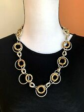 WOMEN'S NECKLACE ETHNIC STYLE SILVER AND GOLD TONE