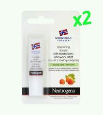 2x NEUTROGENA Nourishing Lip Balm With Nordic Berry For Dry Chapped Lips