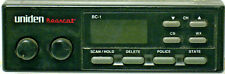 Uniden Bearcat BC-1 Scanner with Antenna and AC Power Supply