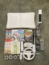 Huge wii bundle, including six games and fitness board, great condition!!