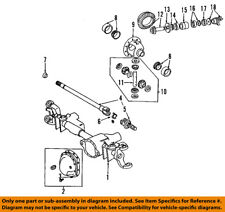 Dodge CHRYSLER OEM 03-09 Ram 2500 Front Axle-Universal Joint U-Joint 5086665AE