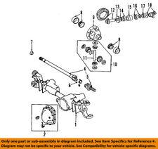 Dodge CHRYSLER OEM 03-08 Ram 3500 Front Differential-Gear Kit 5086692AC