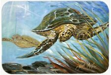 Carolines Treasures Loggerhead Sea Turtle Kitchen & Floor Mat 20 x 30 Durable