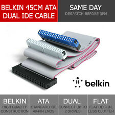 Belkin 45cm 40-Pin IDE/ATA Motherboard to Dual Drive Ribbon Cable Data Transfer