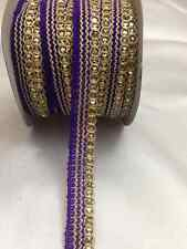 2Yards Sequin Braid  Sewing,Crafts,Costume,Trimming ,Decorative -Various Colours
