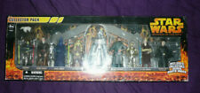 Star Wars: Revenge of the Sith Collector 10 Figure Pack Silver Darth Vader NEW