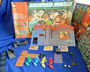 HAUNTED HOUSE BOARD GAME -  SPARES - DENYS FISHER 70's - Please Choose