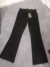 FAB ALL SAINTS ZOE CROPPED BOOTCUT JEANS SIZE 25 BNWT RRP £98