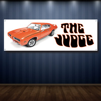 mancave shop garage NATIONWISE ROD SHOP vintage banner 2x4 13 oz Vinyl