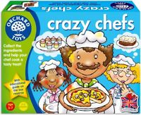 Orchard Toys CRAZY CHEFS Baby/Toddler/Child Matching Card Game Education BN