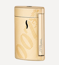 NEW ST Dupont James Bond Collection Gold MiniJet Lighter 010113 S T