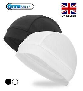 Cycling Skull Cap Winter Under Helmet Liner Cycle Windstopper Beanie UK