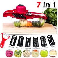 Slicer Vegetable Cutter Grater Chopper Julienne Slicer Peeler for Potato Onion