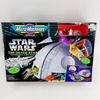 1996 Galoob Micro Machines STAR WARS THE DEATH STAR PLAYSET (65871) NEW IN BOX