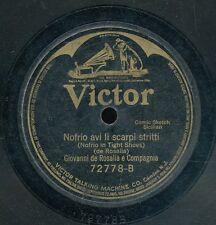 78tk-Ethnic-VICTOR 72778-SICILIAN-comic-Giovanni de Rosalia e Compagnia