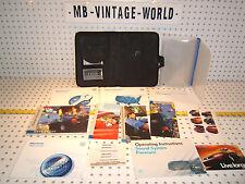 VW Passat 98 owner's manual OEM 1 set of 12 Booklets/ Paper & VW Black OE 1 Case