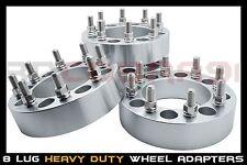 """4 Chevy 2500 3500 HD Duramax Diesel Dually 4x4 4wd Wheel Spacers 1"""" 8x6.5 Billet"""