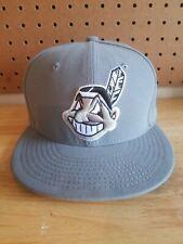 Cleveland Indians Chief Wahoo Logo Hat Cap 59Fifty New Era 7 1/8