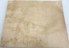 "Maple Karelian (Teardrop Birdseye) wood veneer 7"" x 6"" raw no backing 1/42"""