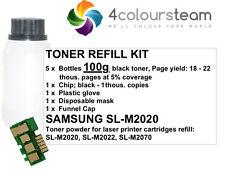500g Toner Recarga Chip Reset Para SAMSUNG SL-M 2020 2022 2070 M2020 MLT-D111